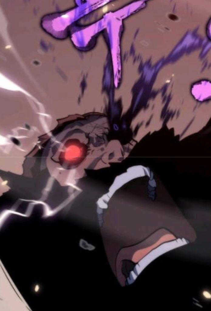 大型巨人の左目から出血